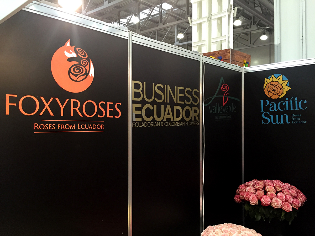 Flowers Expo - мнение Foxy Roses